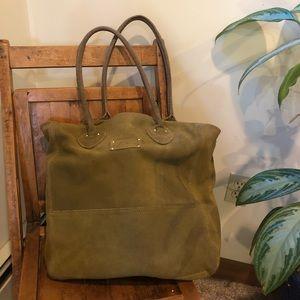 Vintage L.L.Bean Leather tote bag